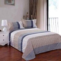 1.King size 1pcs Duvet cover: 200cm * 230cm 1pcs Bed sheet : 225cm *230cm 2pcs Pillowcase : 48cm