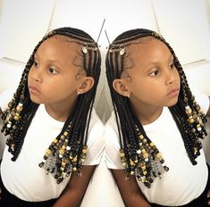 we have a big collection of braided hairstyles of kids. This post is totally about braided hairstyles for the African child. Dear parents don't be afraid we have the best collection of braided styles Black Girl Braided Hairstyles, Black Kids Hairstyles, Kids Braided Hairstyles, African Braids Hairstyles, Baby Girl Hairstyles, Girls Natural Hairstyles, Toddler Hairstyles, Fashion Hairstyles, Girl Haircuts