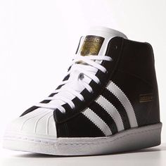 adidas Superstar Up Shoes - Black