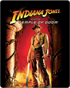Indiana Jones et le temple maudit en blu-ray métal édition limitée