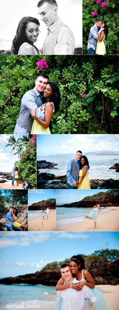 Our 1 year anniversary photos taken by Mariah Milan Photography in Maui, HI! We had a blast being photographed by her <3   Like my diy tutu? It was pretty simple ;) http://considermelovely.com/2013/02/no-sew.html#comment-17839