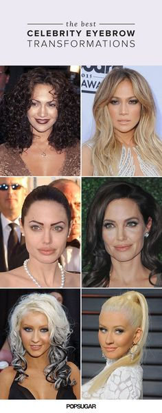 10 Celebrity Transformations That Prove the Necessity of Strong Brows