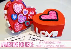 A Modern Day Fairy Tale: A Valentine for Jesus {A Valentine's Day Craft & Lesson for Kids}
