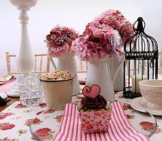 Čaj o piatej ... | Moruška Dizajn | Kreatívna svadobná výzdoba