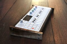 MATRIXSYNTH: Teenage Engineering OP-1 in Custom Wood Case Stand...