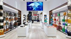 TUMI flagship store interior by Studio Dror.