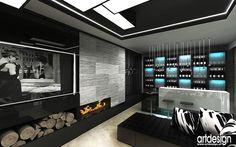 Rezydencja Zakopane  | Salon kominkowy, barek | Wnętrza