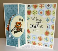 Altered Scrapbooking: Owl the Best Pull Card