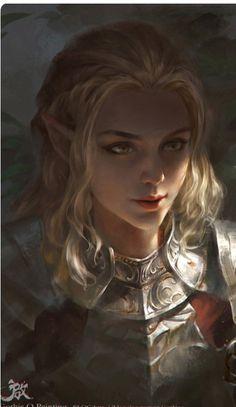 Female Elf Fighter
