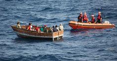 Se dispara el número de balseros cubanos