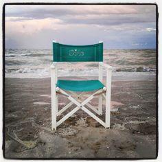 #sedia #chair alla #sera #evening  sulla #spiaggia con #mare in #tempesta #sea #beach #pineta #pinarella #cervia #riviera #romagna #igersfc #ig_forli_cesena #ig_emilia_romagna #ig_emiliaromagna #vivoitalia #vivoemiliaromagna #vivocesena #vivorimini