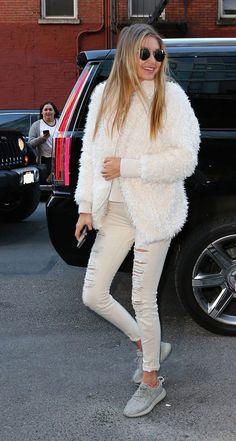 Gigi Hadid's cozy white It jacket is shockingly affordable