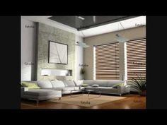 Modern Architecture Decor, Furniture, Room, Sectional Couch, Room Pictures, Modern, Curtains, Blinds