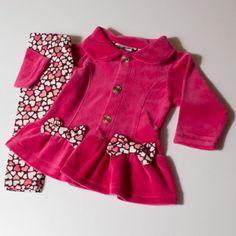 Conjunto Baby 2 pçs Pink