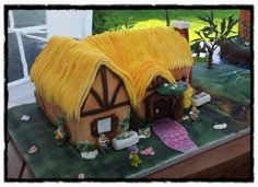 Snow White House By Jurbain on CakeCentral.com