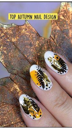 Creative Nail Designs, Fall Nail Designs, Creative Nails, Eye Makeup Art, Autumn Nails, Nail Art Hacks, Easy Hairstyles, Class Ring, Beauty