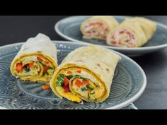 Reggeli egy kis csavarral | CSORBA ANITA | Gasztro csatorna - YouTube Fresh Rolls, Hamburger, Tacos, Ethnic Recipes, Drinks, Food, Youtube, Diet, Drinking
