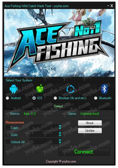 Ace Fishing Wild Catch Hack and Cheats download online, Full version of Ace Fishing Wild Catch Hack and Cheats no survey. Get Ace Fishing Wild Catch Hack and Cheats updated Ace Fishing Wild Catch Hack and Cheats. Working Ace Fishing Wild Catch Hack and Cheats