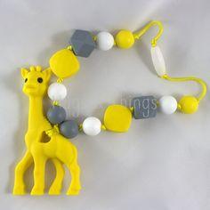 Wrap Snap: Yellow and Grey Giraffe