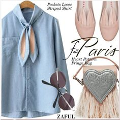 How To Wear I Love Paris in the Fall 4 Outfit Idea 2017 - Fashion Trends Ready To Wear For Plus Size, Curvy Women Over 20, 30, 40, 50