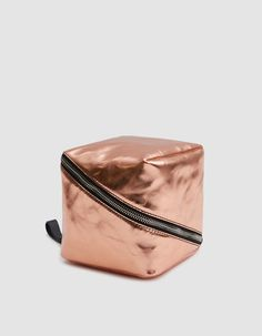 c06a3c733356 Mini cube wristlet bag from Proenza Schouler in Rose Gold. Metallic