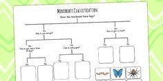 Minibeast Classification Game