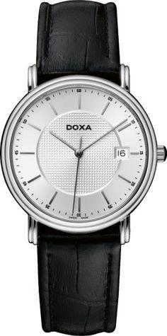 Doxa 221.15.021.01 Watches, Leather, Accessories, Clocks, Clock, Ornament