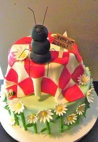 Picnic Cake Picnic Birthday, Birthday Cakes, Birthday Ideas, 3rd Birthday, Birthday Parties, Pretty Cakes, Beautiful Cakes, Amazing Cakes, Spring Cake