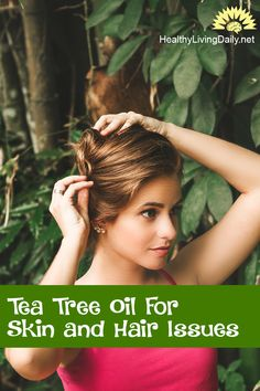 8 Ways Tea Tree Oil Can Help With Your Skin and Hair Issues 👍😊🤩  Read this article to find out how tea tree oil can help with your skin and hair problems.   #teatreeoil #teatreeoilforskin #teatreeoilforhair #teatreeforskinandhair #essentialoil #athletesfoot #skintags #nailfungus #dentalplaque #headlice #benzylbenzoate #dandruff #acne #warts #teatreeandlavenderoil #freshgarlic #healthylivingdaily #followme #follow