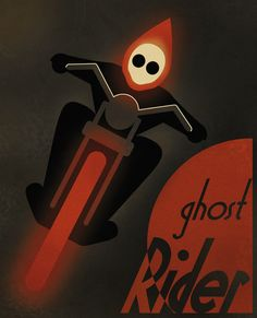 CASSANDRE SPIRIT - Ghost Rider2 Art Print by Greg guillemin