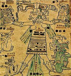 dralestrange:  Ixchel Diosa de la luna, el parto, la procreacion y la medicina. Como diosa de la medicina se le hacia una fiesta en el mes zip.En el mesuinal zip, se juntaban los sacerdotes con sus mujeres, y usaban idolillosde la diosa Ixchel, y la fiesta se llamaba Ibcil Ixchel, invocaban a los dioses de la medicina que eranItzamná, Citbolontun y Ahau Chamahez, realizaban un baile llamado Chantunyab. Como diosa lunar y patrona de los partos estaba relacionada con el agua y vinculada…
