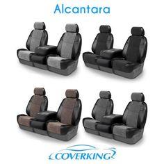 CoverKing Alcantara Custom Seat Covers for Honda Accord Coupe Chevy Silverado Hd, Infiniti Q45, Custom Seat Covers, Montero Sport, Honda Accord Coupe, Honda Ridgeline, Jeep Patriot, Subaru Forester, Buick