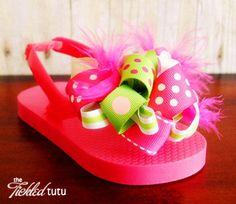 Kiwi Strawberry Tickled Tutu Toes
