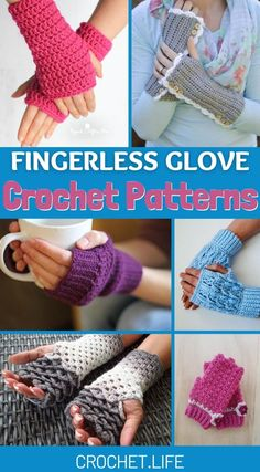 Crochet Fingerless Gloves Free Pattern, Crochet Mitts, Crochet Wrist Warmers, Ribbed Crochet, Fingerless Mitts, Mittens Pattern, Crochet Slippers, Free Crochet, Crotchet