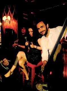 Carmen Porcar Trio June 25th Bluesman Cocktail Bar Hotel el Palace Barcelona