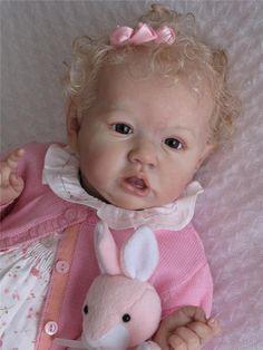 THE MAGIC OF DOLLS - reborn baby °SASKIA° Bonnie Brown kit #BonnieBrown