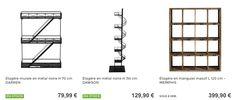 étagère de rangement, 3 styles #MaisonsDuMonde