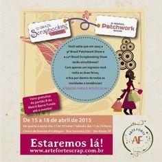 TE ESPERAMOS LÁ!!!! www.artefortescrap.com.br