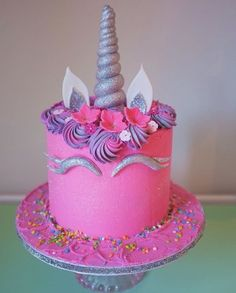 Image result for unicorn birthday cake #cakedesigns