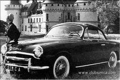 Simca 8 sport 1953