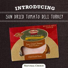 Sun Dried Tomato Deli Turkey. #sandwich #wrap #glutenfree #natural #health