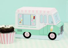 Hey, I found this really awesome Etsy listing at https://www.etsy.com/listing/224679351/ice-cream-truck-ice-cream-party-favor