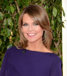 TV personality Savannah Guthrie arrives at the 70th Annual Golden Globe Awards held at The Beverly Hilton Hotel on January 13, 2013 in Beverly Hills, California.