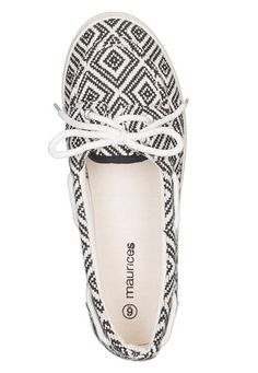 courtney embroidered boat shoe - maurices.com