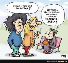 Mitas mummeli tuijottaa? - HAUSK.in Nostalgia, Character Design, Mood, Humor, Comics, Memes, Funny, Smile, Quotes
