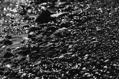 Black pebbles by Marilena Anastasiadou