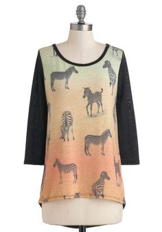 Wildlife As We Know It Top, #ModCloth