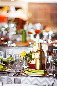 A Vibrant Orange and Grey Wedding in Virginia - Munaluchi Bridal Magazine