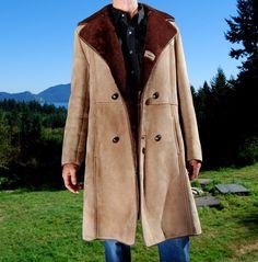 Handmade Mens Sheepskin Jackets | Mens Sheepskin Coats and Vests