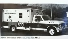 One of the early Denton Fire Department Ambulances.